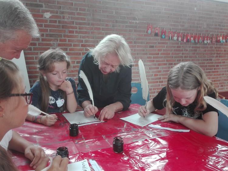 Künstlerisches Betreuungsangebot im Schulkinderhaus der Baltic-Schule