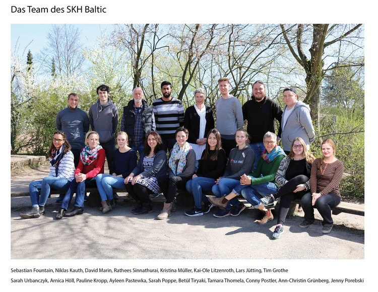 Das Team der Baltic-Schule