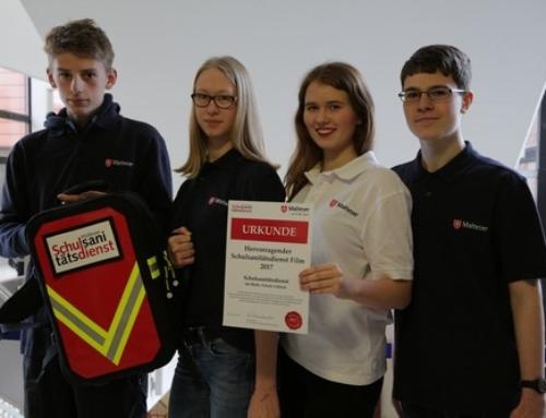 Schulsanitäter der Albert-Schweitzer- und der Baltic-Schule unter den besten zehn des Videowettbewerbs des Malteser-Hilfsdienstes