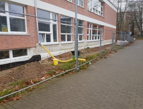 Lärm, Staub und Umwege – die Baustelle in der Briggstraße
