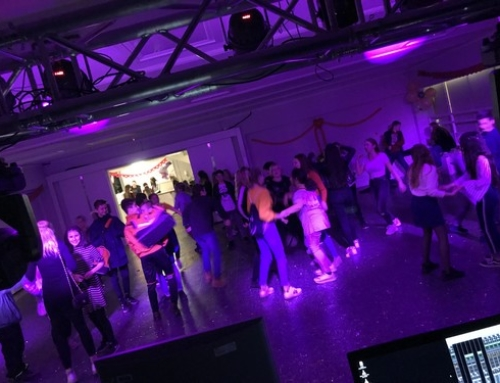 Valentinsdisco in der Baltic-Schule