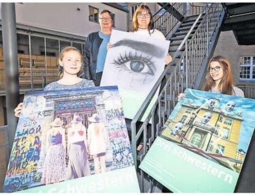 Baltic-Schule belegt beim Plakatwettbewerb des Lübecker Theaters die ersten drei Plätze