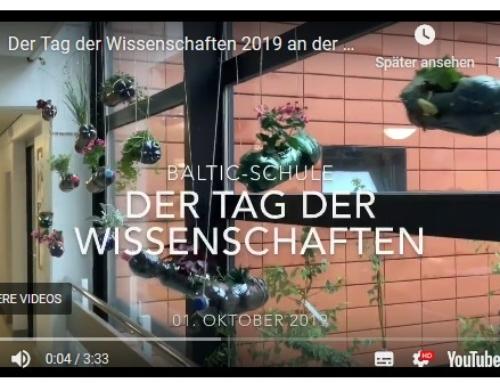 Impressionen vom Tag der Wissenschaften 2019 an der Baltic-Schule
