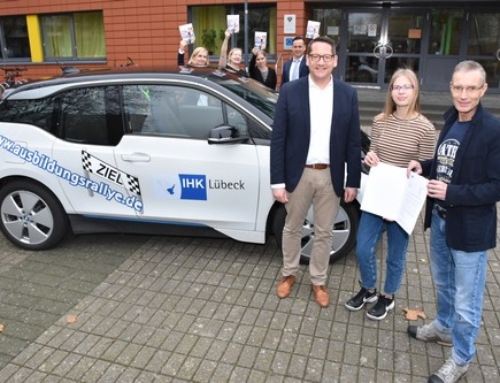 Baltic-Schule gewinnt 1.000 Euro bei der vierten IHK-Ausbildungsrallye