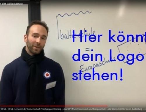 Baltic-Schule = Europaschule?! Na Logo! – Der Baltic-Europa-Logo-Wettbewerb